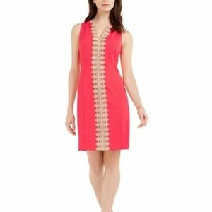 Pappagallo The Brook Quilted Jacquard Dress 4